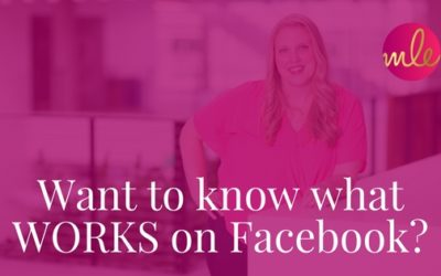 Want to know what WORKS on Facebook?