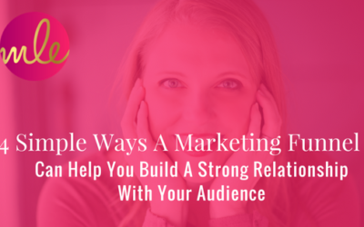 Episode #12: 4 Simple Ways A Marketing Funnel Can Help You Build A Strong Relationship With Your Audience