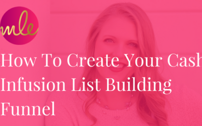Episode #20: How To Create Your Cash Infusion List Building Funnel