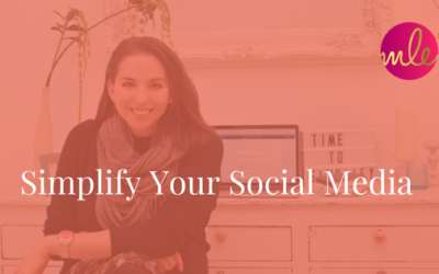 Episode #31: Simplify Your Social Media