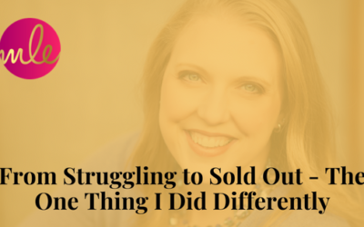 Episode 41: From Struggling to Sold Out – The One Thing I Did Differently