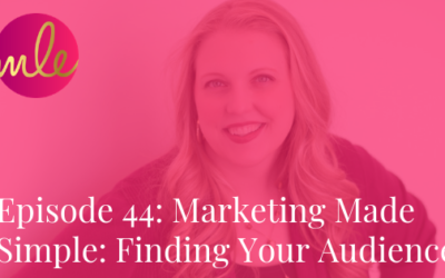 Episode 44: Marketing Made Simple: Finding Your Audience