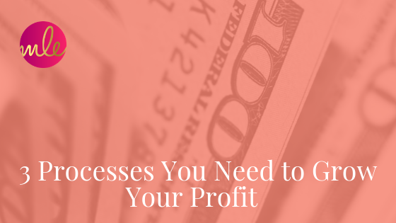 Episode 91: 3 Processes You Need to Grow Your Profit