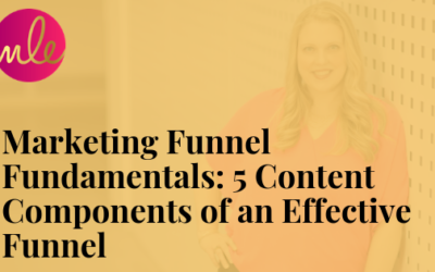 Episode 101: Marketing Funnel Fundamentals: 5 Content Components of an Effective Funnel