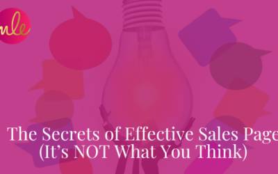Episode 106: The Secrets of Effective Sales Pages (It's NOT What You Think)