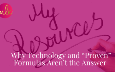 """Episode 118: Why Technology and """"Proven"""" Formulas Aren't the Answer"""